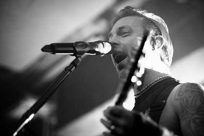 Euphorisch - Fotos: Bullet for my Valentine live im Substage in Karlsruhe